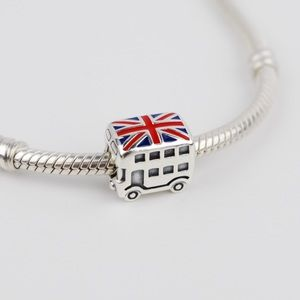 Authentic PANDORA Sterling Silver London Bus